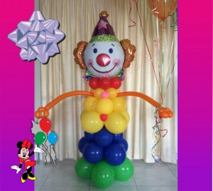 balloons-limassol-clown